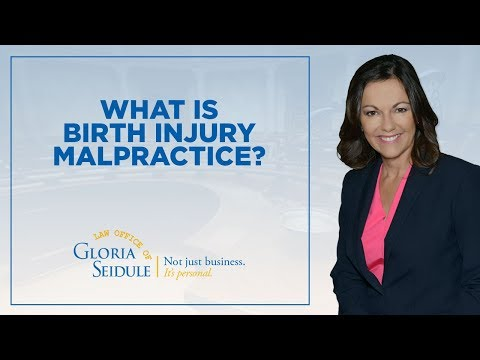 What is birth injury malpractice?