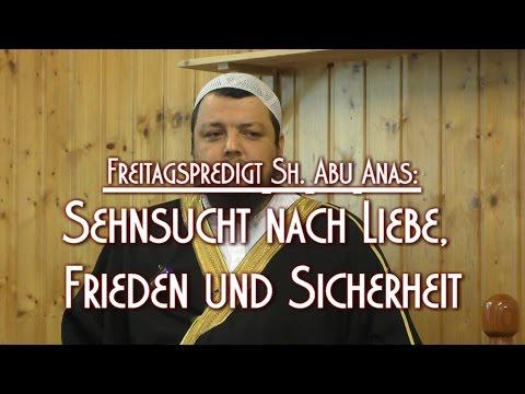 SEHNSUCHT NACH LIEBE, FRIEDEN UND SICHERHEIT mit Sh. Abu Anas am 11.12.2015 in Braunschweig