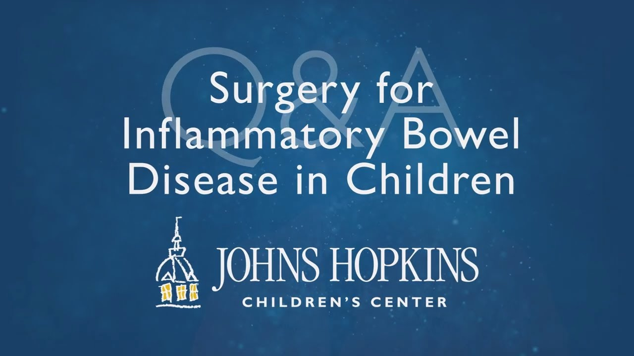 Inflammatory Bowel Disease (IBD) in Children   Q&A with Clint Cappiello