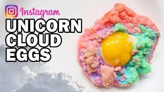 DIY Unicorn Cloud Eggs - Man Vs Instagram #3