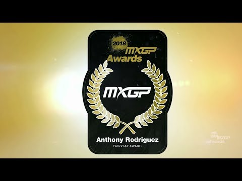 Anthony Rodriguez - FairPlay Award - MXGP Awards 2018