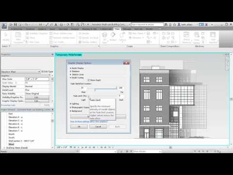 Revit 2017 What's New Depth Cueing