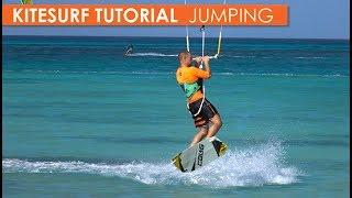 How to Kitesurf: Jumping, Part 1: small jumps, medium jumps & mistakes