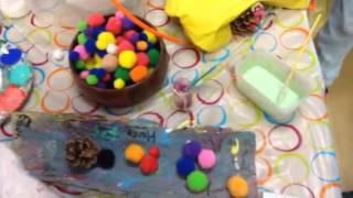 Glitter Glue & Writing