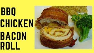 Chicken Bacon Roll