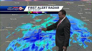 UPDATE: Snow burst reduces visibility in KC