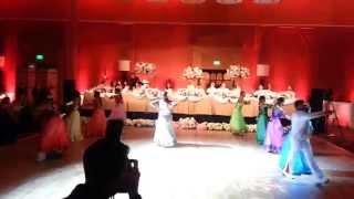 Sri Lankan wedding dance in Los Angeles (Meeduma)