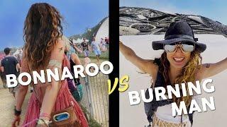 BONNAROO VS BURNING MAN- USA Festivals of 2016