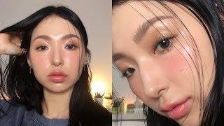 무펄 글로우 메이크업 | Dewy Glow Without Glitter Make-up