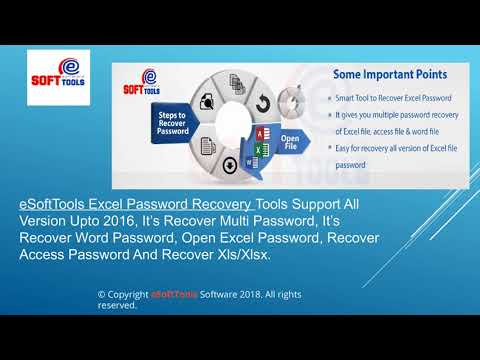 eSoftTools Excel Password Recovery Software