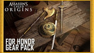 Assassin's Creed Origins - For Honor Gear Pack Trailer