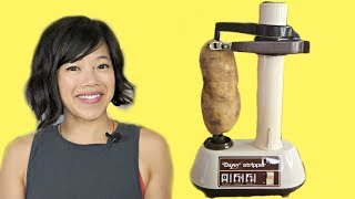 DAZEY STRIPPER Vintage Gadget Test & FUNERAL Potatoes Recipe