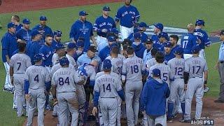 TEX@TOR Gm5: Blue Jays take lead in a wild 7th inning