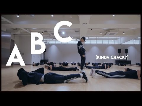 learn the alphabet with weird nct dance moves