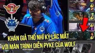 """Siêu hỗ trợ """"SKT"""" Wolf tiếp tục mang con bài khát máu Pyke giúp SuperMassive chiễm chệ ngôi đầu bảng"""