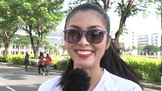 Tăng Thanh Hà nói tiếng Anh