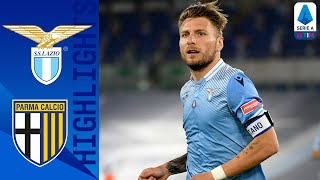 Lazio 1-0 Parma | Immobile scores with the last kick of the match! | Serie A TIM