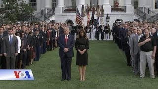Mỹ tưởng niệm vụ khủng bố 11/9 (VOA)