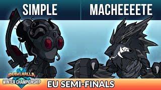 simpLe vs Macheeeete - Semi-Finals - Winter Championship EU 1v1 Top 8