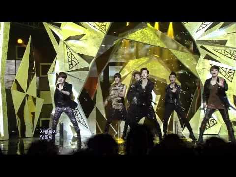 EXO-K [MAMA] @SBS Inkigayo 인기가요 20120422