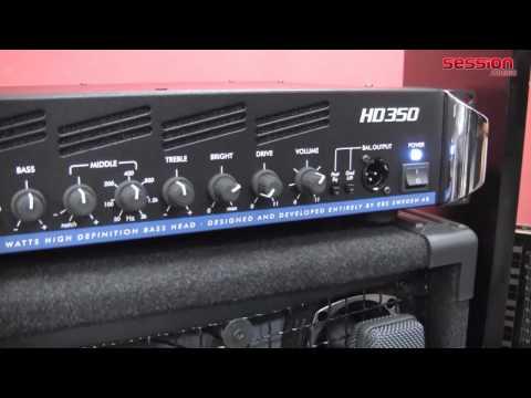 EBS HD350 Bass Head