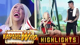 Vice bursts into laughter because of Ion's pick up line | It's Showtime KapareWho