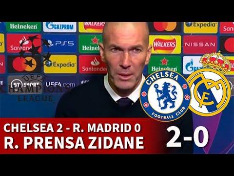 CHELSEA 2 vs REAL MADRID 0   ZIDANE, rueda prensa: CLAVES DERROTA, VINICIUS, FUTURO...   DIARIO AS