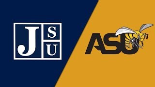 2018 SWAC Football: Jackson State Tigers vs  Alabama State Hornets