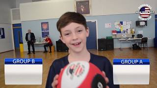 Dodgeball World Cup 2018 Group Stage Draw