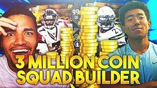 3 MILLION SPENDING SPREE VS THATWALKER! Madden 18 Ultimate Team