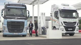 L'inauguration de la station V-Gas de Proviridis à Saint-Quentin-Fallavier