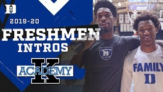 Duke Basketball: 2019 Freshman Intros