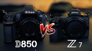 Nikon D850 VS Nikon Z7 | Is the Z7 Worth it?