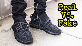 HOW TO LEGIT CHECK // Adidas Yeezy Boost 350 Pirate Black