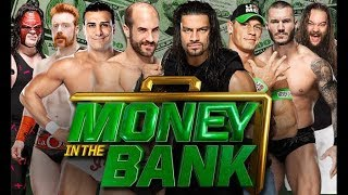 Money In The Bank 2014 - WWE World Heavyweight Championship Full Ladder Match HD