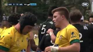 HIGHLIGHTS: New Zealand Schools v Australia Schools -