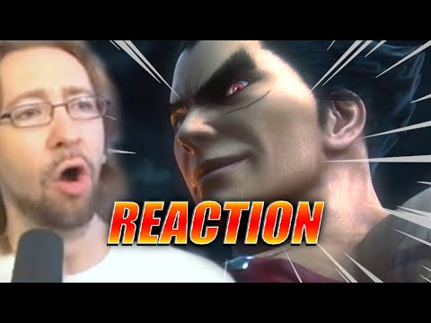 MAX REACTS: Kazuya Mishima Smash Ultimate Reveal - Nintendo E3 2021