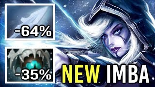 WTF CAN'T MOVE NEW CANCER -100% Slow Skadi Drow Ranger Mid vs Invoker Crazy Gameplay by GH Dota 2