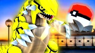 Minecraft Pixelmon MEGA LUCKY BLOCK WORLD - POKEMON IN REAL LIFE CLASH!? (Minecraft Pokemon Mod)