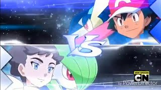 Ash & Greninja vs Diantha & Gardevoir ~AMV~ / Hero {Skillet}
