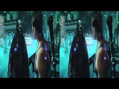 (3D & 4K) Devil May Cry 3840x2160 Mission 7 Overturn (Ultra HD) Oculus Rift