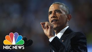 Former President Barack Obama Speaks After Receiving Ethics Award | NBC News