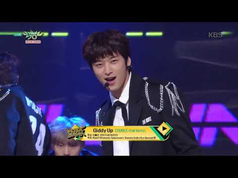뮤직뱅크 Music Bank. Giddy Up - 더보이즈 (THE BOYZ). 20160504