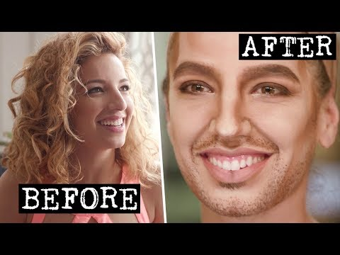 My First Drag King Transformation | S Word w/ Vanessa Lengies