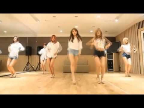 AOA 'Confused' mirrored Dance Practice