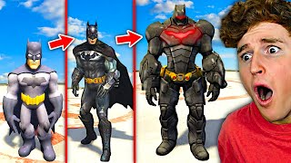 Upgrading BATMAN Into BAT GOD In GTA 5.. (Mods)