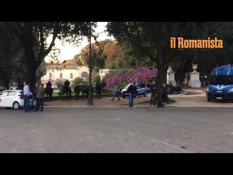 VIDEO - Verso Roma-Cska: la situazione dell'ordine pubblico