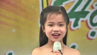 Bé Tú Thanh 7 tuổi xinh đẹp, hát quan họ Bắc Ninh khiến vạn người mê - Làng Quan Họ Quê Tôi