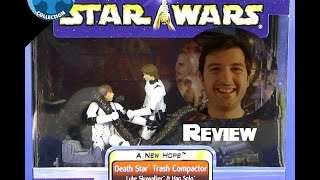 Review figurines Star Wars : Death star trash compactor 1 & 2