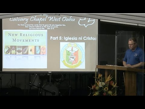 21 October 2020 CCWO's Mid Week Cult Study pt 5 on 'Iglesia ni Cristo' with Pastor Dan Jacobson
